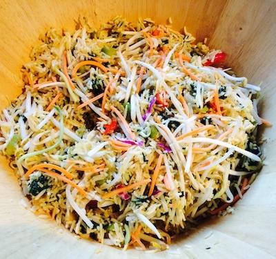 spinach-rice-salad