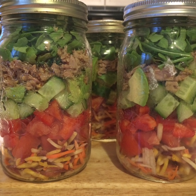 Layered Tuna Salad