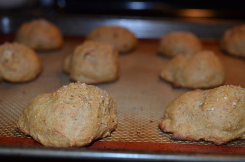 Molasses Pecan Savoury Biscuits