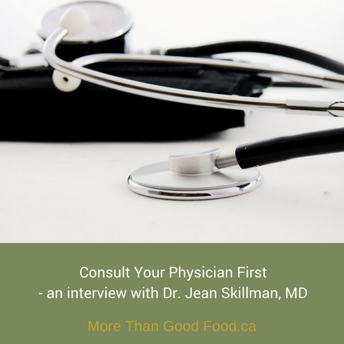 An interview with Dr. Jean Skillman on More Than Good Food