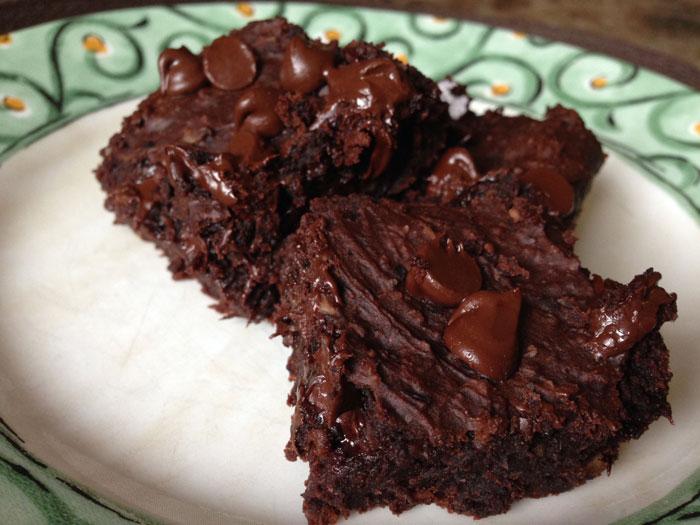 Black-bean brownies