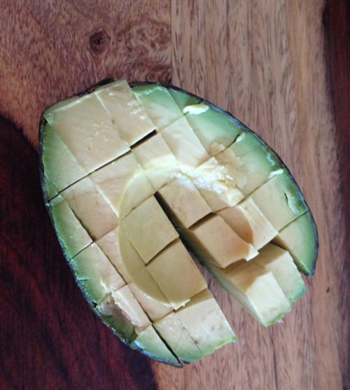 Diced Avocado